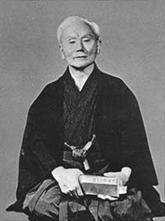 Gichin Funakoshi, founder of Shotokan Karate